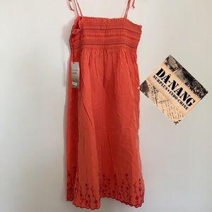 🆕 DA-NANG Smocked Silk Blend Dress 🆕